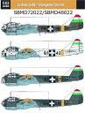 1/48 ユンカースJu88 「ハンガリー空軍」 2機分国籍マーク付SBS