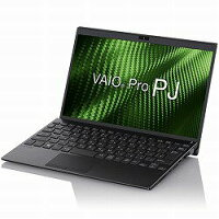 VJPJ111DBL1B VAIO Pro PJ 12.5型ワイド/i5/8G/256G/LTEなし/指紋/TPM/Win10Pro/黒/VAIO株式会社製