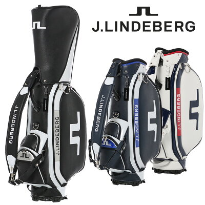 Jリンドバーグ J.LINDEBERG メンズ レディース キャディバッグ 9.5型 47インチ ワンショルダー 式ベルト