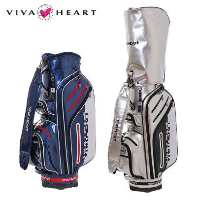 ビバハート VIVA HEART メンズ レディース キャディバッグ 9.5型 47インチ対応