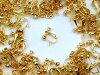 イヤリングパーツ ゴールド  丸タイプ 20個