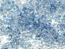 極小 ガラス玉 クリアブルー 雨粒のたね レジン パーツ 封入 10g