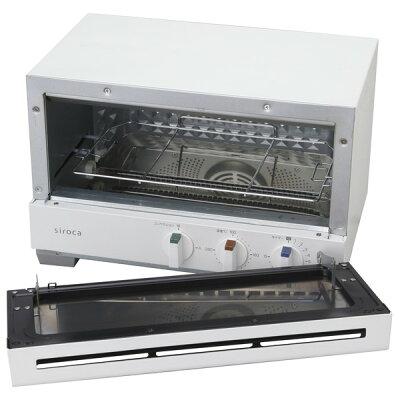 シロカ プレミアムオーブントースター すばやき ST-2A251(W)(1台)