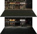 ジオラマシート mini W アジアンストリートセット A 箱庭技研