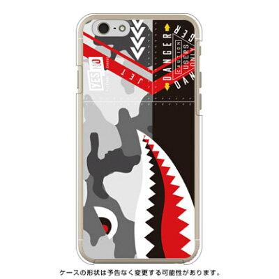 (スマホケース)シャーク アーバンカモ (クリア)/ for iPhone 6/Apple (YESNO)