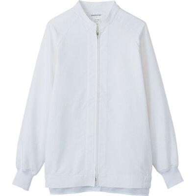 サンペックス 男女兼用長袖ジャンパー ホワイト     品番:vp621-