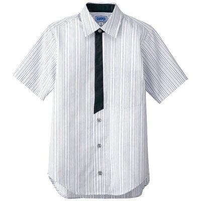商品コード:SSY4105 男女兼用半袖シャツ LL BT-3124 グレー