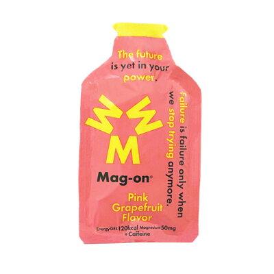 Mag-on/マグオン TW210232 マグネシウムチャージサプリメント Mag-on マグオン エナジージェル ピンクグレープフルーツ味