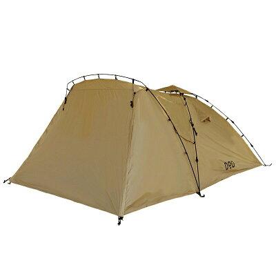 テント ドッペルギャンガーアウトドア ライダーズタンデムテント T3-485-TN タン DOPPELGANGER OUTDOOR