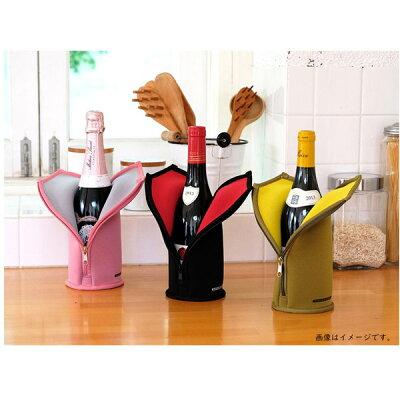 さくら製作所 ワイン専用保冷ケース WINE SUIT ワインスーツ 8℃用 TW8-PN ピンク×ライトグレー