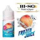BI-SO ビソー ビーソ Frozen Juice ピーチメンソール 30ml
