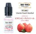 BI-SO ビソー ビーソ Vita+Mist ビタミンピーチメンソール 電子タバコリキッド