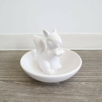 かわ畑 小物入れ 陶器トレイ リス 1502CNC006