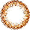 度なし eye to eye anessa(アネッサ) マンスリー ブラウン 2枚入り レンズ直径14.2mm