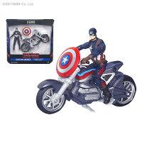 シビル・ウォー/キャプテン・アメリカ 3.75インチ レジェンド ボックスセット キャプテン・アメリカ&バイク ハズブロ