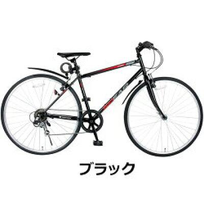 泥除け カギ ライト   自転車 クロスバイク 27インチ 700c シマノ製 6段変速 SPEAR スペア SPC-70063