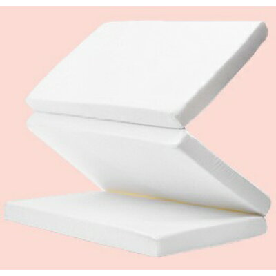 マットレス 腰痛 マットレス マットレス シングル 三つ折り 折りたたみ 97×195サイズ