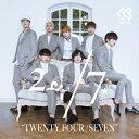 24/7(TWENTY FOUR/SEVEN)(通常盤A)/CD/KEBB-1003
