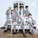 24/7(TWENTY FOUR/SEVEN)(通常盤B)/CD/KEBB-1004
