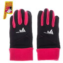 タッチパネル対応 5指手袋 3263 黒x赤 Fサイズ  黒x赤フリーサイズ 3263 BKRDF