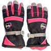 JOYRIDO 子供用 スキー5指手袋 AG-7224 ブラック サイズ/JSS AG-7224-BKJSS