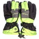 エァウォーク AW スキー5指手袋 AWー6121 Nグリーン サイズ=M  Nグリーンサイズ=M AW 6121 NGRM