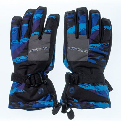 エァウォーク AW スキー5指手袋 AWー6222 ネイビー サイズ=L  ネイビーサイズ=L AW 6222 NVL