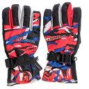 エァウォーク AW スキー5指手袋 AWー7121P レッド サイズ=JM  レッドサイズ=JM AW7121P RDJM
