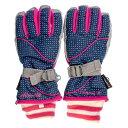 エァウォーク AW スキー5指手袋 AWー7122P ネイビー サイズ=JL  ネイビーサイズ=JL AW7122P NVJL