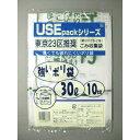 USE 東京23区半透明ごみ袋 30L 10P