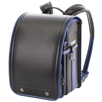 最新2019年度モデル KYOWA/協和 05-33070 プレミアムコレクション 男の子 学習院型 ブラック×メタリックブルー