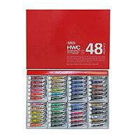 ホルベイン ホルベイン 透明水彩絵具 48色セット