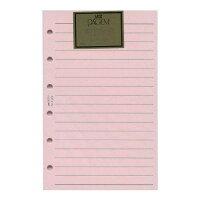 ミニ6穴サイズリフィル P406 太ケイページ(ピンク)