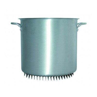 杉山金属 アルミ エコライン寸胴鍋 蓋無 42cm AZV8305