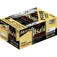 アサヒス-パ-ドライ -ドライブラック- 缶500ml 6缶パック×4