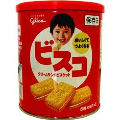 ビスコ 保存缶(5枚*6袋入)