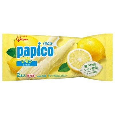 グリコ パピコ レモン 80mlX2