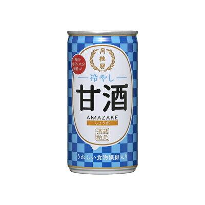月桂冠 冷やし甘酒190g缶(しょうが入り)