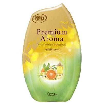 お部屋の消臭力 プレミアムアロマ   スイートオレンジ&ベルガモットの香り(400ml)