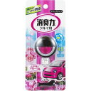 クルマの消臭力 クリップタイプ 消臭芳香剤 車用 フローラルの香り(3.2mL)