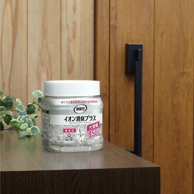 消臭力 クリアビーズ イオン消臭プラス 大容量 消臭剤 つめかえ 無香料(800g)