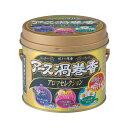 アース渦巻香 蚊取り線香 アロマセレクション 缶入(30巻)