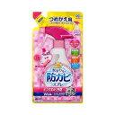 らくハピ 水まわりの防カビスプレー ピンクヌメリ予防 ローズの香り つめかえ(350mL)