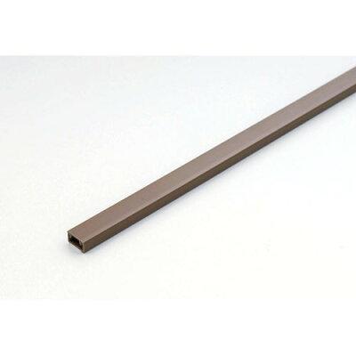 エルパ ABSモール ブラウン ミニ 1m 吊下げ テープ付 MH-T01H(BR)(1本入)