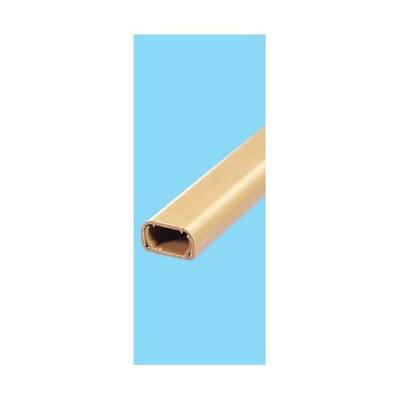 エルパ ABSモール ブラウン 1号 1m テープ付(1本入)