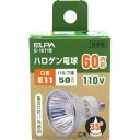 ELPA ハロゲン電球 110V 60W形 E11口金 G-1671B