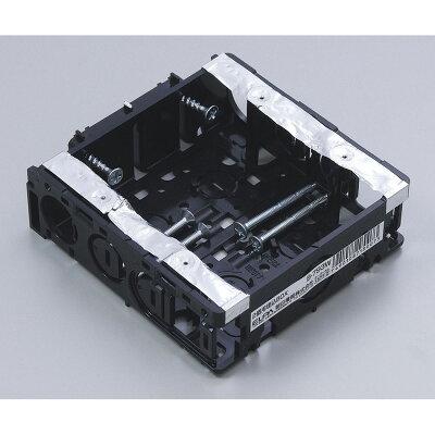 朝日電器 ELPA B-793W ウメコミスイッチボックス 2コヨウ B793W