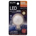 朝日電器 ELPA LDG1L-G-E12-G231 LEDデンキュウG30ガタE12 LDG1LGE12G231