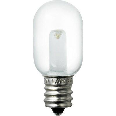 冷蔵庫LED庫内灯 E12口金 クリア昼白色 LDT1CN-G-E12-G125(1コ入)