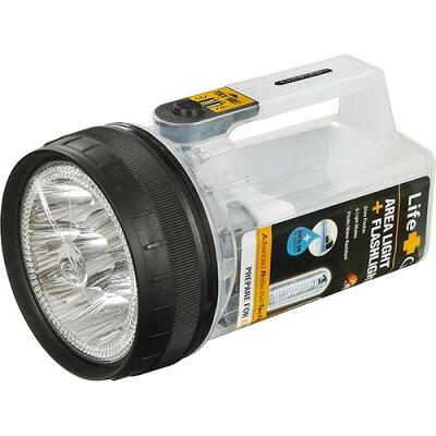 エルパ ライフギア LED強力ライト 単3形4本 ホワイト DOP-LG510(W)(1コ入)